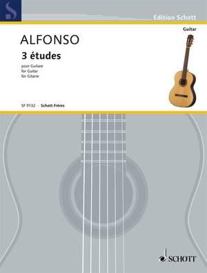 Alfonso, N: 3 Etudes