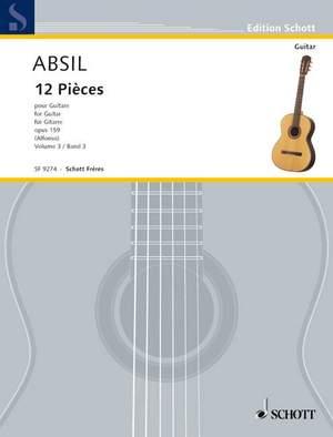 Absil, J: 12 Pieces op. 159 Vol. 3