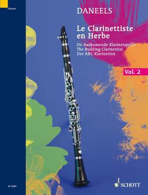Daneels, F: The Budding Clarinettist Vol. 2