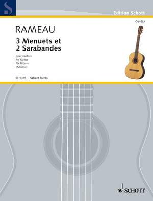 Rameau, J: 3 Menuets and 2 Sarabandes Product Image