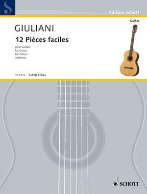 Giuliani, M: 12 pièces faciles