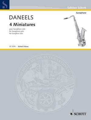 Daneels, F: 4 Miniatures