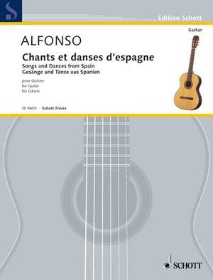 Alfonso, N: Songs and Dances from Spain Product Image