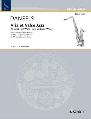 Daneels, F: Aria and Waltz Jazz
