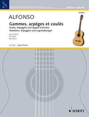 Alfonso, N: Gammes, arpèges et coulés Product Image