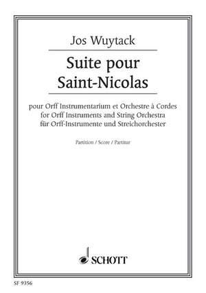 Wuytack, J: Suite for Saint-Nicolas