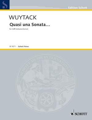 Wuytack, J: Quasi una Sonata...
