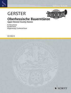 Gerster, O: Upper-Hessian Country Dances