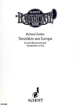 Zettler, R: Dance Movements from Europe Product Image