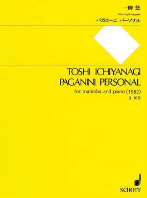 Ichiyanagi, T: Paganini Personal