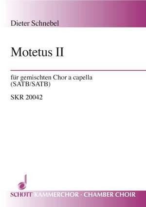 Schnebel, D: Motetus II