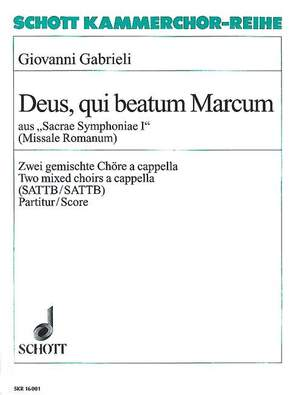 Gabrieli, G: Sacrae Symphoniae I