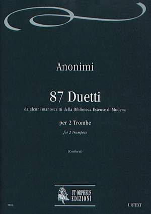 87 Duets (from several manuscripts of Biblioteca Estense in Modena)