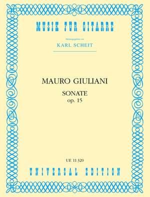 Giuliani Mauro: Sonata op. 15