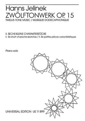 Jelinek, H: 6 Little Character Pieces op. 15/2