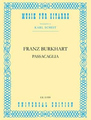 Burkhart Franz: Passacaglia