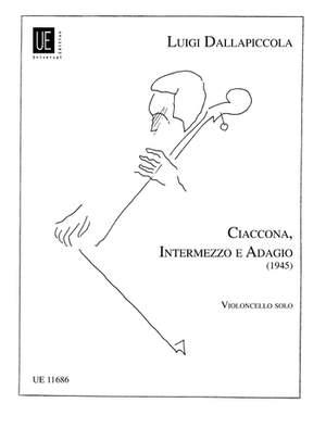 Dallapiccola Lu: Chaconne, Intermezzo and Adagio