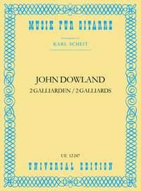 Dowland John: Dowland Two Galliards S Gtr