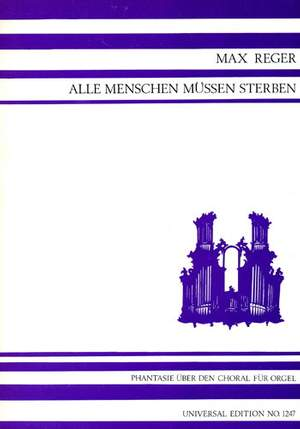 Reger, M: Reger Fantasie Op51/1 Org Op. 52/1