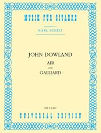 Dowland, J: Air and Galliard