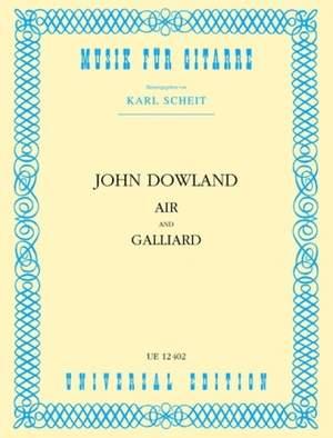 Dowland John: Air and Galliard