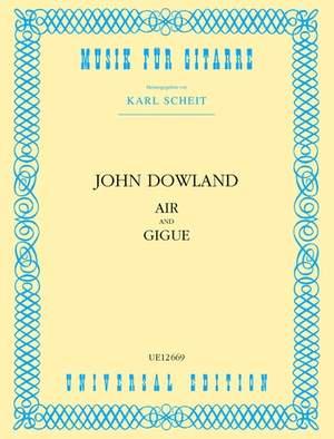 Dowland John: Air and Gigue