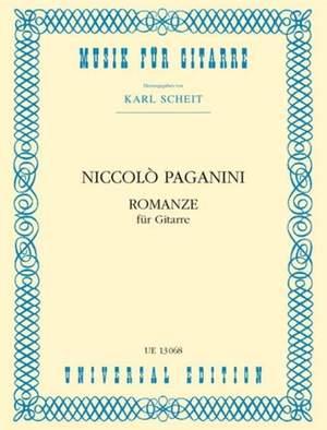 Paganini, N: Paganini Romance Gtr