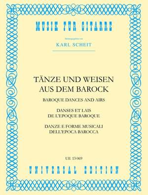 Anonymous: Scheit Baroque Airs & Dances Gtr