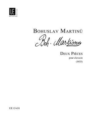 Martinu Bohusla: Martinu Deux Pieces Cemb