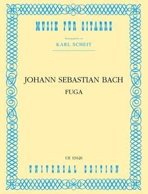 Bach, J S: Bach Js Fuge S.gtr Nach 2. Satz Bwv 1001