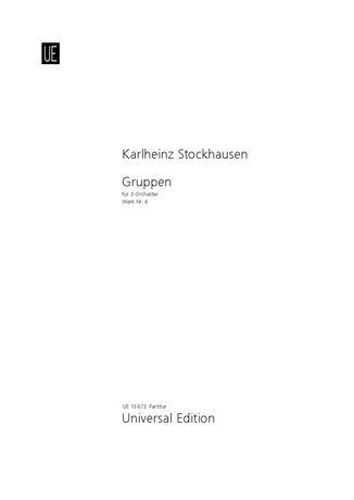 Stockhausen, K: Gruppen Min Score Nr. 6