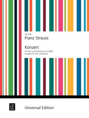 Strauß, F: Concerto op. 8