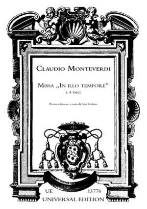 Monteverdi, C: Monteverdi Missa In Illo Tempore 1