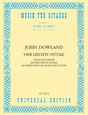 Dowland John: 4 Easy Pieces