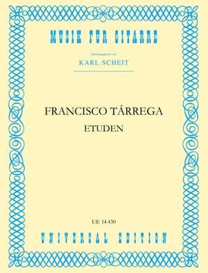 Tárrega, F: Studies