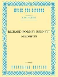 Richard Rodney Bennett: Impromptus Gtr