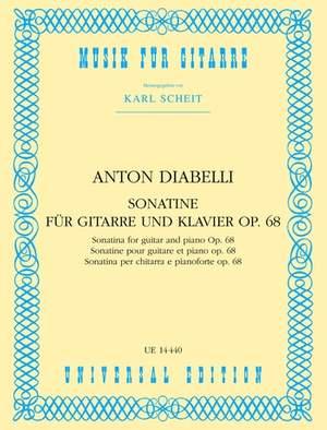Diabelli, A: Diabelli Sonatine Op68 Gtr Pft Op. 68
