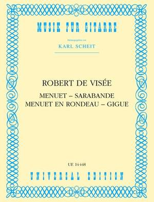 Visée, R d: De Visee Menuet Sarabande Menuet S.gtr