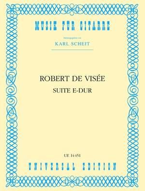 Visée, R d: De Visee Suite E Maj S Gtr