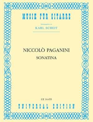 Paganini, N: Paganini Sonatine S Gtr