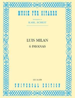 Milan Luis: Milan Sechs Pavanen S Gtr