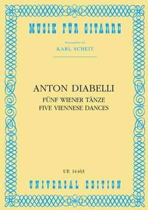 Diabelli, A: 5 Viennese Dances