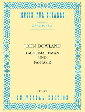 Dowland John: Dowland Lachrimae Pavan & Fantasy Gtr