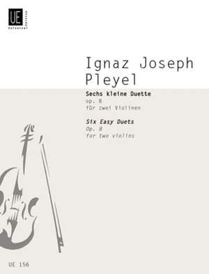 Pleyel, I J: Pleyel Six Petite Duos Op8 2vln Op. 8