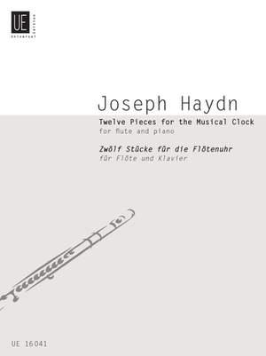 Haydn, J: Haydn 12 Pieces Musical Clock Fl Pft Hob. Xix:11-16, 25-30