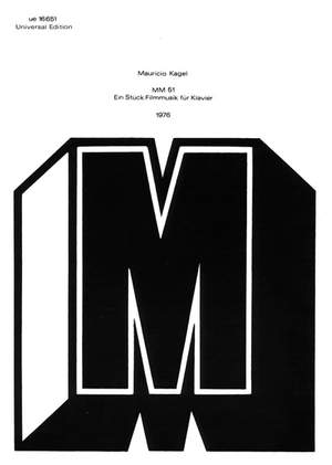 Kagel, M: Film Music Mm51