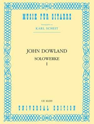 Dowland John: Dowland Solo Works Vol.1 Gtr Band 1