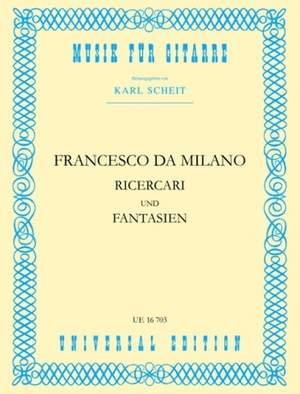 Francesco Canov: Milano Ricercari & Fantasien S Gtr
