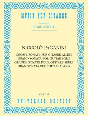 Paganini, N: Paganini Grand Sonate S Gtr