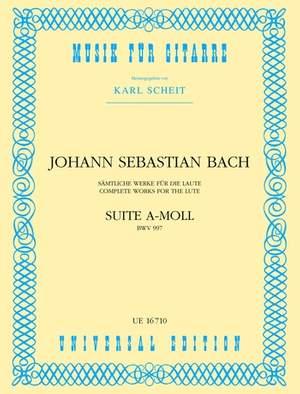 Bach, J S: Bach Js Suite A Min S Gtr Bwv 997